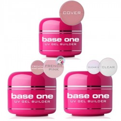 Gel UV 3 in 1 Base One Clear 50g